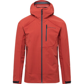 Black Diamond Cirque Veste shell Homme, red rock